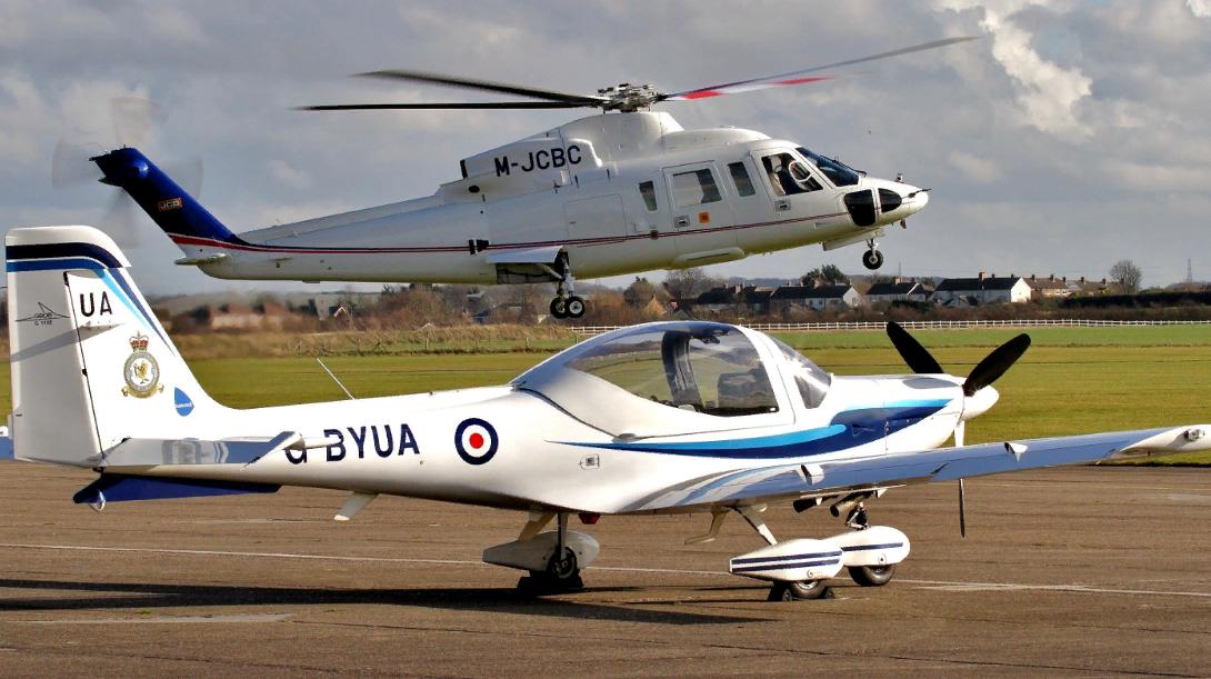Оценка воздушного транспорта (вертолета, самолета)